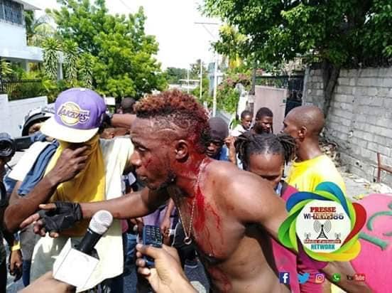 Manifestations violentes, la PNH montre ses muscles