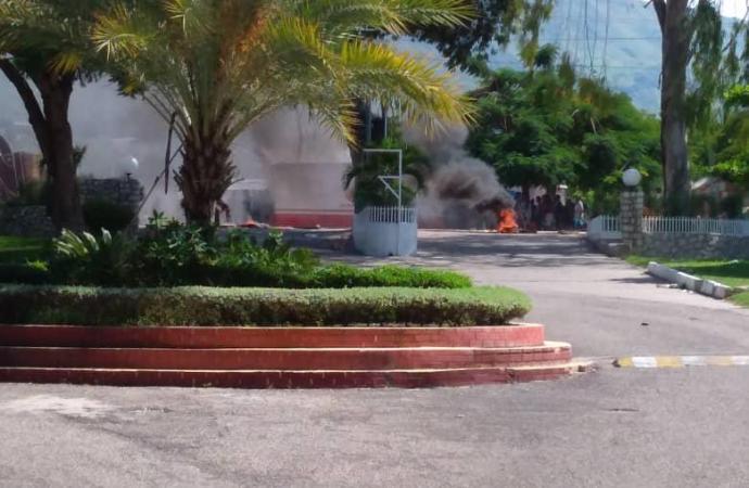 Haïti-Crise: Royal Decameron pris pour cible par des manifestants