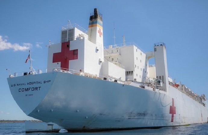 Le USNS comfort attendu en Haïti à partir du 4 novembre