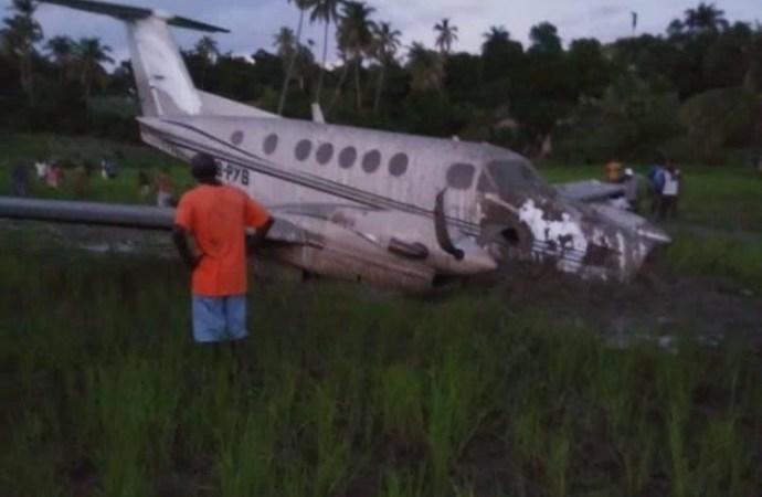 Crash d'avion à Saint Jean du Sud