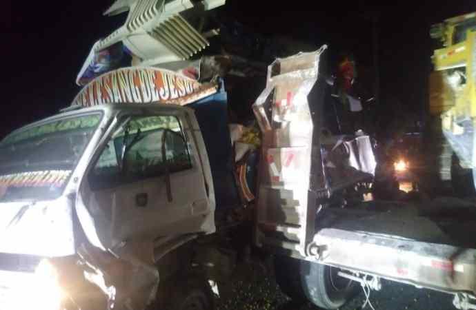 Accident de la route sur la Nationale # 8