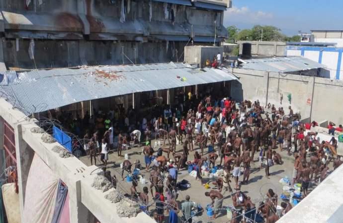Situation de tension au pénitencier national