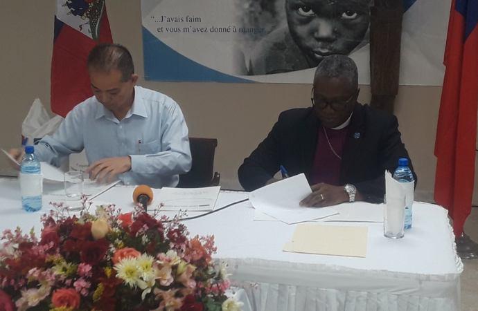 Haïti reçoit 400 tonnes métriques de riz de Taïwan