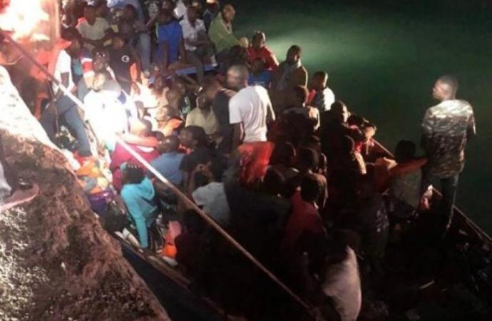 Un bateau rempli d'Haïtiens intercepté aux larges des îles Turcs and Caïcos