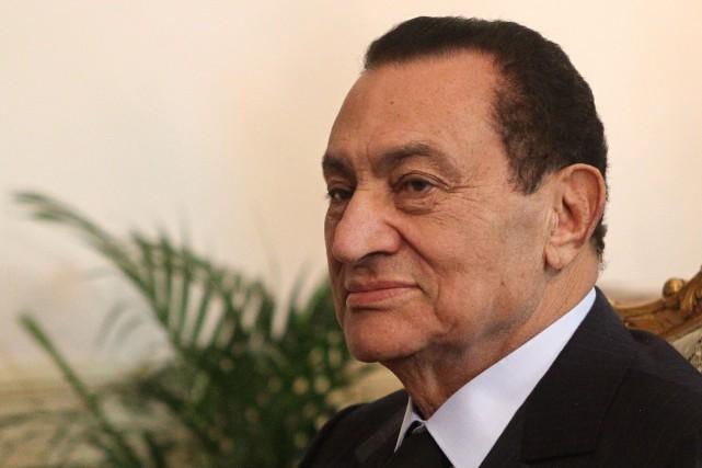 L'ancien président de l'Égypte Hosni Moubarak est mort