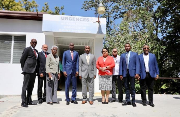 Vers la réouverture de l'Hôpital de la Communauté Haïtienne