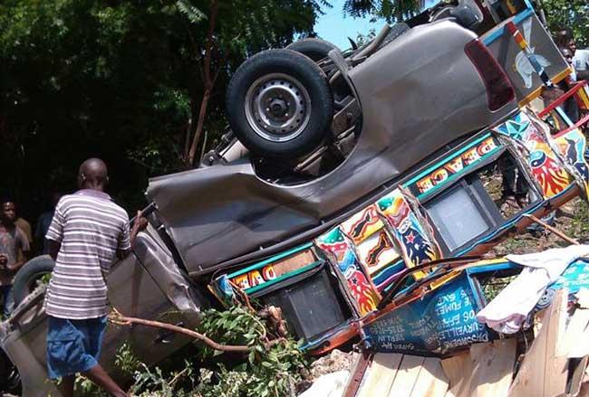 Insécurité routière:  28 accidents de la circulation enregistrés du 10 au 16 février