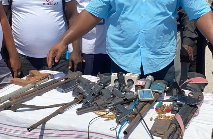 Haïti-Sécurité: vers un retour à la normale à la Saline