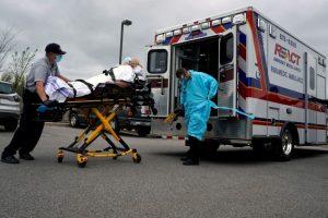 1480 morts en 24h aux États-Unis, nouveau record quotidien dans un pays