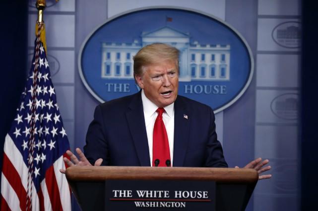 Confusion sur le point de presse de la Maison-Blanche