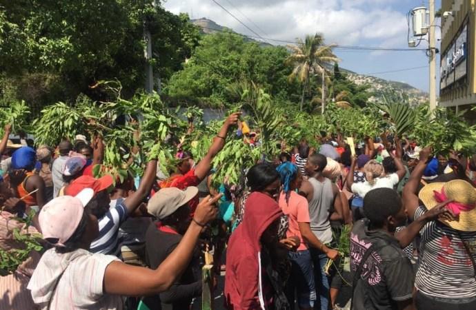 Coronavirus-Pétion-Ville: des commerçant s'opposent à des mesures communales