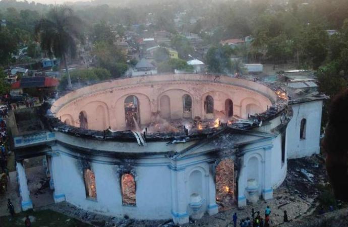 Incendie de la chapelle de Milot: l'ONU et l'UNESCO attendent les résultats de l'enquête
