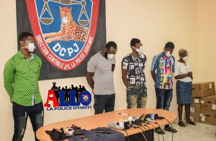 Sécurité: arrestation de 5 membres de gangs de Village de Dieu