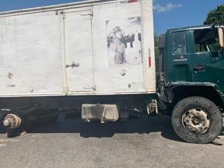 Haïti-Coronavirus : Des individus dresse une barricade sur la route nationale
