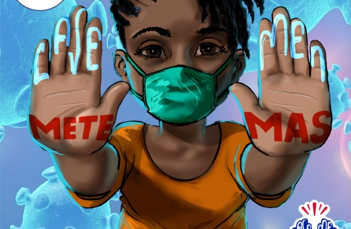 """Coronavirus : évalué à 3 milliards de gourdes, """"Sa se biznis pa m"""" veut lancer son projet """"La ve men w, mete mask ou"""""""
