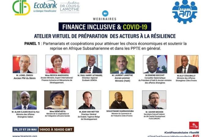 » La technologie et le financement innovant sont au cœur de la relance économique post COVID-19 «, selon Laurent Lamothe