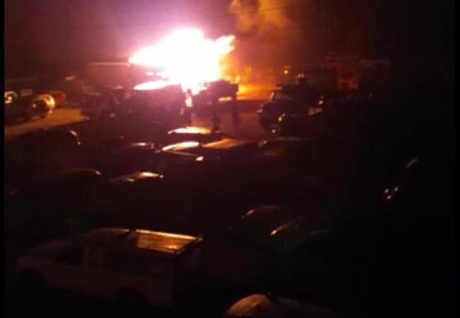 Saint Marc-Douane: 5 voitures, 2 yatchs incendiés par la foudre !