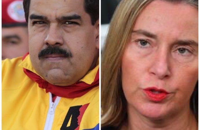 Le torchon brûle entre Caracas et l'Union européenne