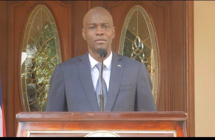 Anniversaire de la PNH: Jovenel Moïse lance un appel au dialogue pour résoudre la crise