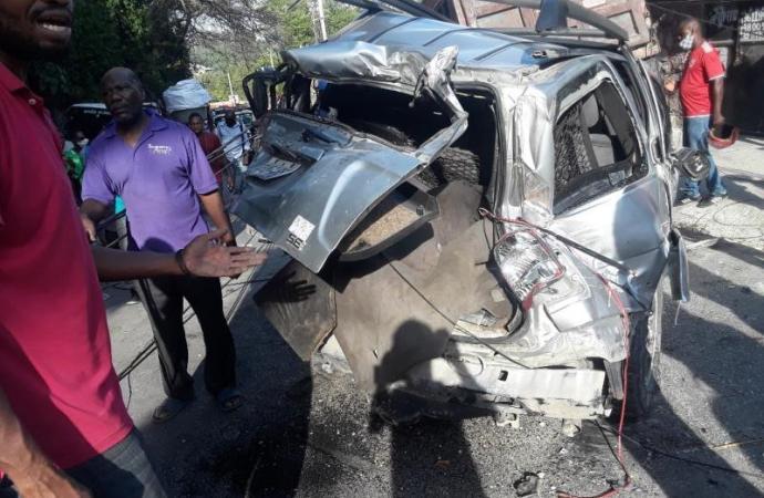 En moins d'une semaine, Stop Accidents a compté 79 victimes pour 32 accidents