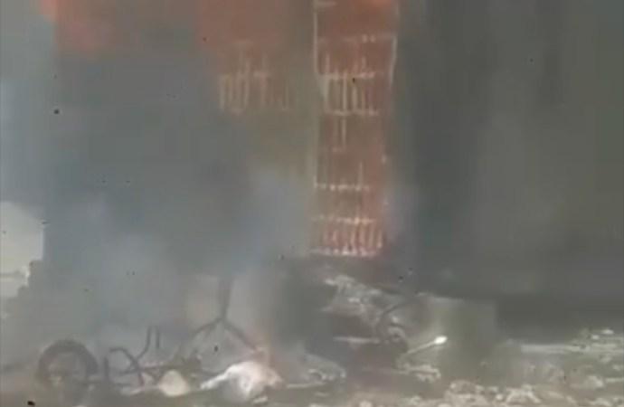 Laboule 12 : un policier tire sur un chauffeur de taxi-moto, le poste de police incendié