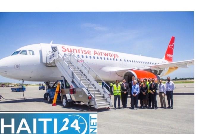 Transport aérien : Sunrise Airways relie Port-au-Prince et Jérémie