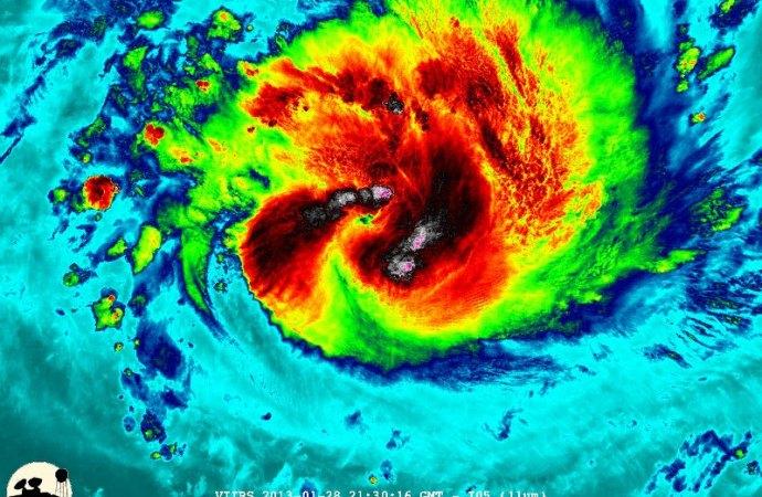 Une tempête tropicale menace la côte Sud d'Haïti