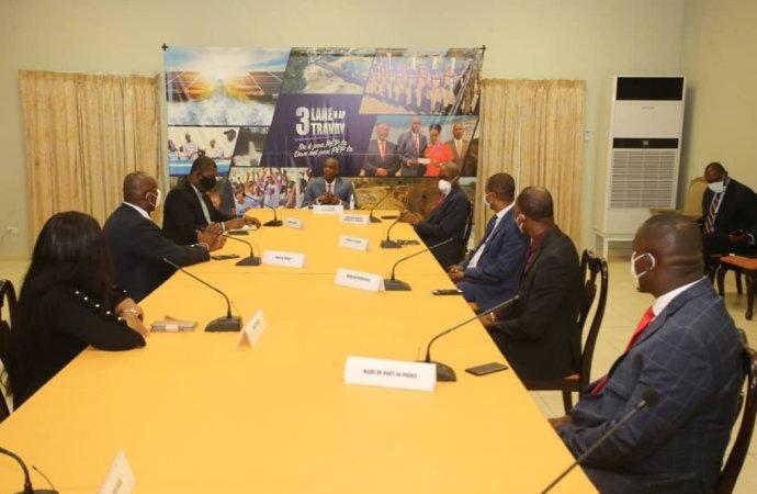 Municipalités et Défis: Jovenel Moïse s'est entretenu avec ses agents intérimaires