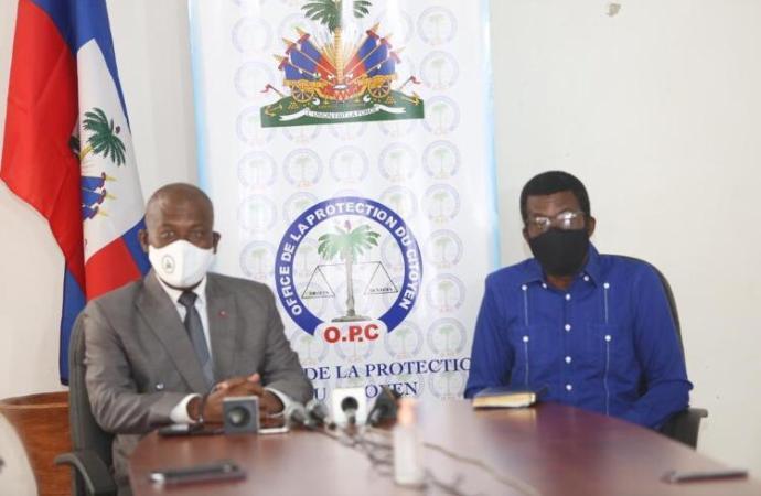 Grâce présidentielle : Jouthe Joseph s'est entretenu avec le protecteur du citoyen