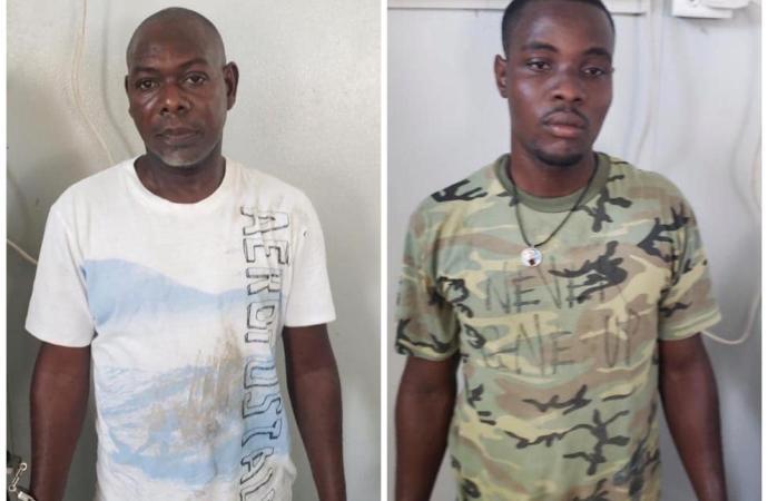 Arrestation de deux individus en possession de cocaïne