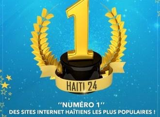 Haïti 24 ''Numéro 1'' des sites internet haïtiens les plus populaires!