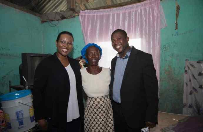 Tempête Laura : Martine Moïse vole au secours des victimes