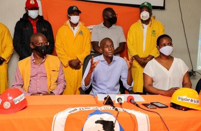 Intempéries : Jovenel Moïse sympatise avec les familles des victimes, l'OEA promet son soutien