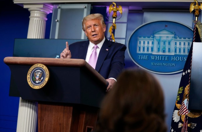 Présidentielle américaine : La publication des résultats prendra du temps, selon Donald Trump