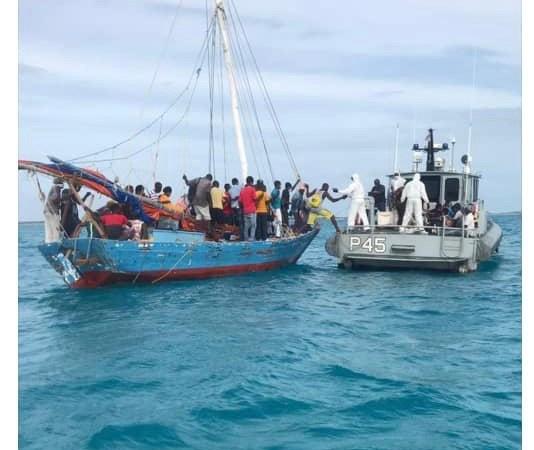 Migration: 44 migrants arrêtés aux larges des Bahamas