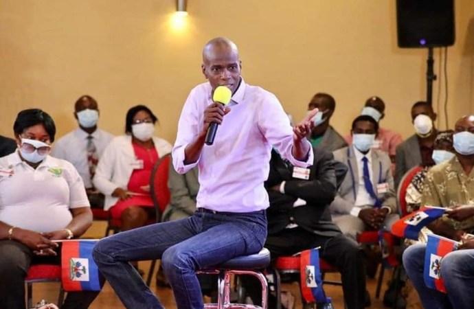 Jovenel Moïse menace de s'en prendre à ceux qui utilisent le taux de change pour renverser le pouvoir
