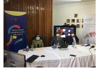 Lancement de la 6ème édition du Prix Jeune Journaliste en Haïti par l'OIF