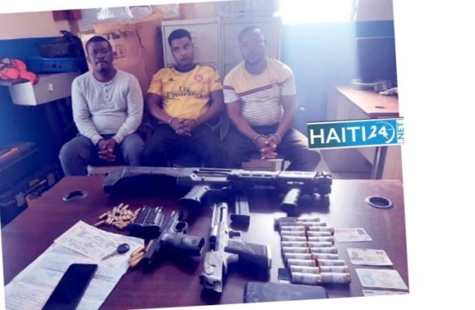 Trois présumés bandits interpellés aux Gonaïves