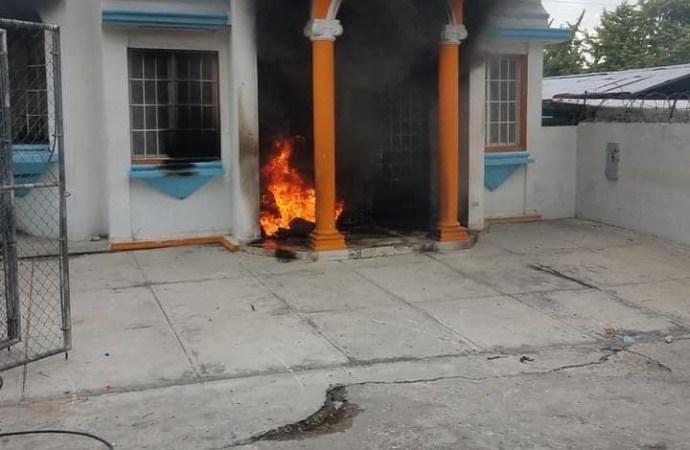Le bureau de l'ONI à Bourdon incendié une deuxième fois