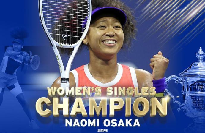 Naomi OSAKA, championne de l'US Open