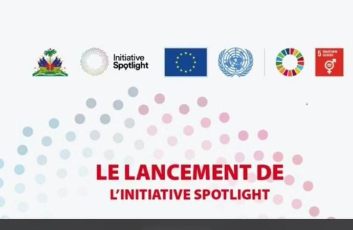 Lancement officiel de l'Initiative Spotlight en Haïti par le MPCE et ses partenaires
