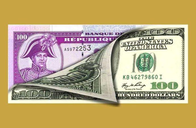 Taux de référence : la BRH affiche 62,20 gourdes pour un dollar