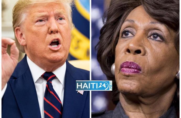 Donald Trump ne veut plus de Maxine Waters au bureau du Congrès