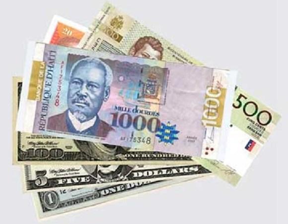 Le taux de référence de la BRH est de 62,23 gourdes pour un dollar