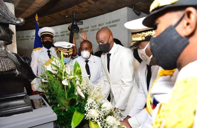 Jovenel Moïse salue la mémoire de Dessalines au MUPANAH