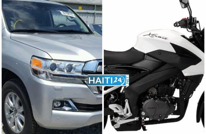 L'OIM offre des matériels roulants à la PNH