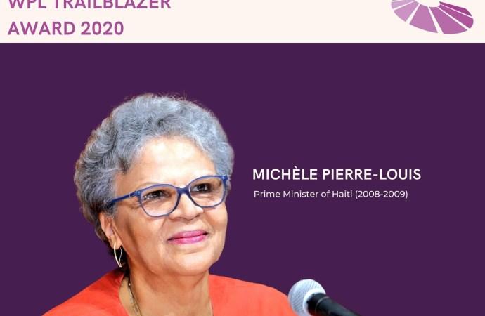 Une prestigieuse distinction décernée à Michèle Duvivier Pierre-Louis