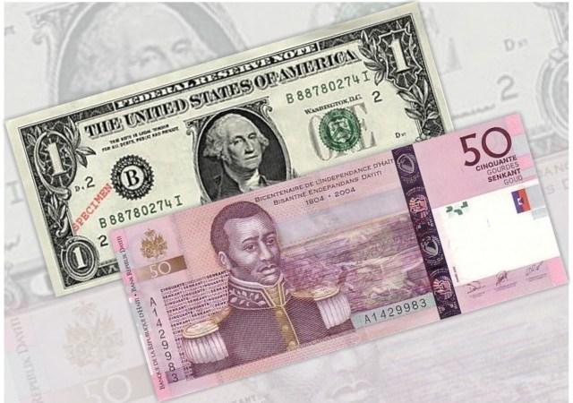 Taux de référence : la BRH affiche 63,61 gourdes pour un dollar