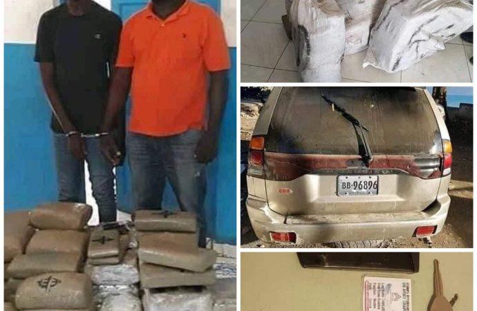 Trafic illicite : Deux présumés narco-trafiquants arrêtés à Saint-Louis du Nord
