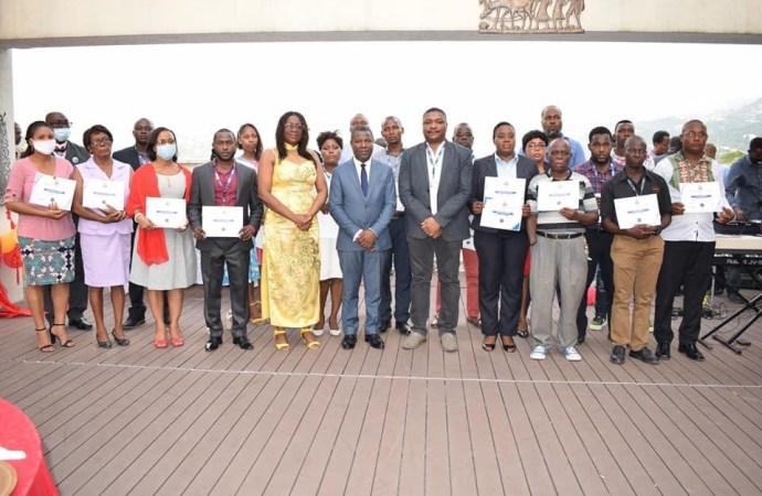 Le Ministère du Commerce et de l'Industrie honore 40 de ses employés